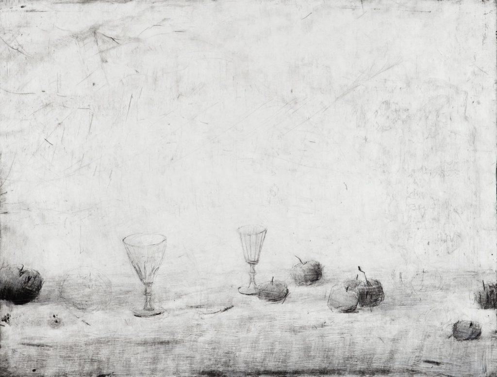 Claudia Berg Äpfel und Gläser