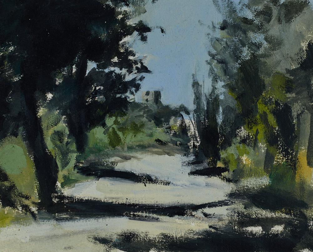 Claudia Berg Weg bei Castellabate
